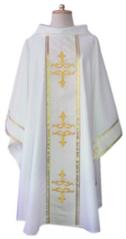 White Classic Chasuble